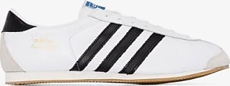 adidas Adidas Mens White Training 76 Spzl Leather Sneakers