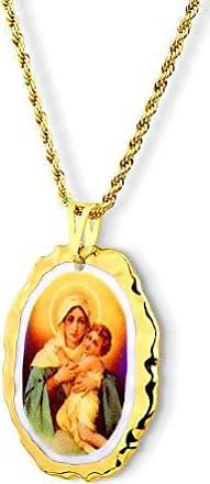 Design Medalhas Pingente Medalha Nossa Senhora De Schoenstatt Mãe Rainha Ouro
