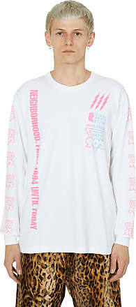NEIGHBORHOOD Neighborhood Familia long sleeve t-shirt WHITE/PINK S