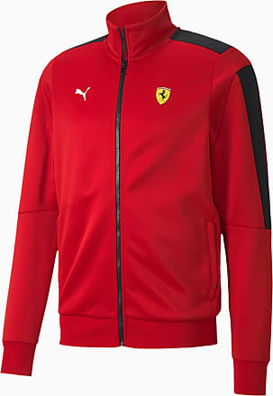 Puma Scuderia Ferrari Race T7 Mens Track Jacket, Red, size 2X Large, Clothing