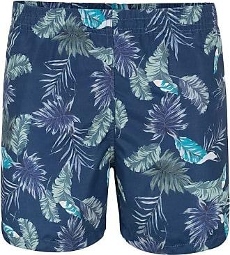 Pierre Cardin Shorts Azul Leaf M