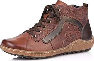 Remonte Women Ankle Boots R4777, Ladies Chukka Boot,Half Boots,Lace Up,Bootie,Zipper,Chestnut/Brown/Antik/Havanna / 22,40 EU / 6.5 UK