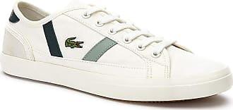 Lacoste Sideline 319 2 Womens Off White/Dark Green Trainers-UK 7 / EU 40.5