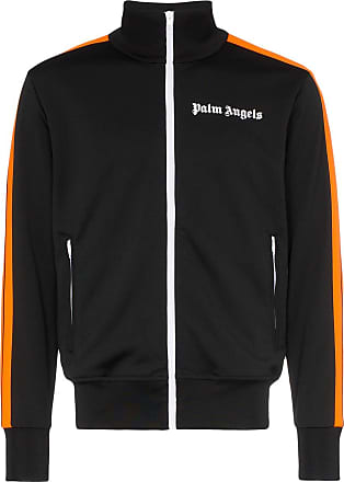 Palm Angels high neck track jacket - Black