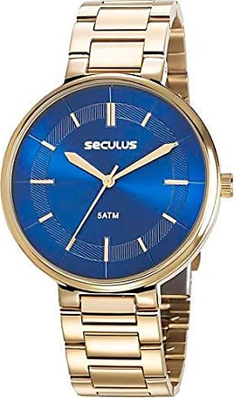 Seculus Relógio Seculus Feminino Ref: 23634lpsvds1 Fashion Dourado