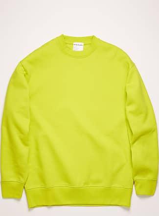 Acne Studios FN-MN-SWEA000103 Grellgelb Oversized Sweatshirt