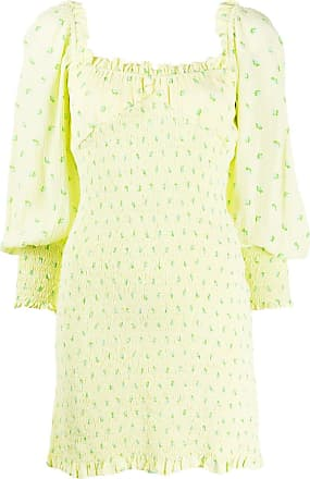 Faithfull The Brand floral print mini dress - Yellow
