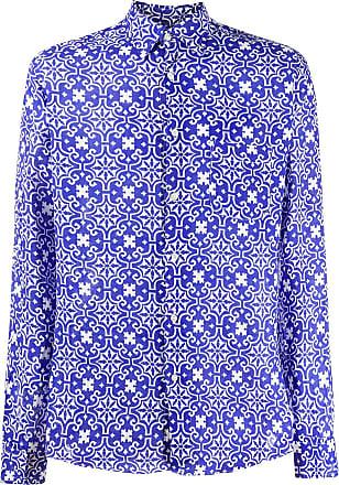 Peninsula Camisa Sperlonga com estampa - Azul