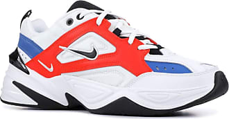 Nike Mens M2k Tekno Competition Running Shoes, Multicolour (Summit White/Black/Team Orange 100), 10.5 UK