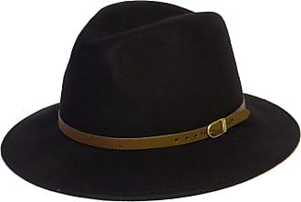 Hat To Socks Wool Fedora Felt Trilby Hat (60 cm, Navy)