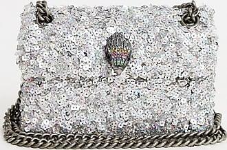 Kurt Geiger Kurt Geiger - Kensington - Mit Pailletten verzierte, kleine Tasche-Silber