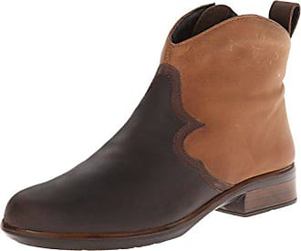 Naot Naot Womens Sirocco Boot, Crazy Horse Leather/Saddle Brown Leather, 38 EU/6.5-7 M US