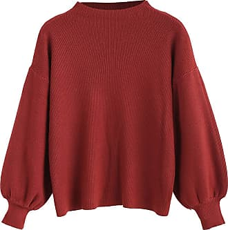 Zaful Womens Jumper - Red - One size fits all