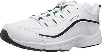 Easy Spirit Womens Romy Sneaker, White 140, 7.5 Wide