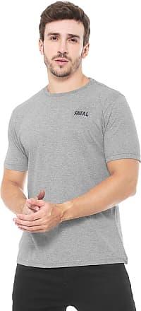 Fatal Surf Camiseta Fatal Fashion Basic Cinza