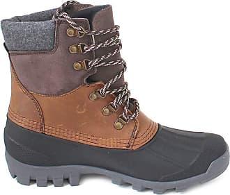 kamik Mens Hudson5 Snow Boots, Brown (Dark Brown DBR), 8 UK