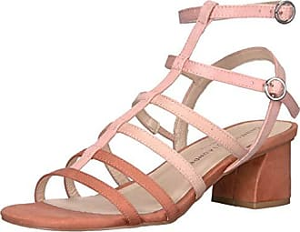 Chinese Laundry Womens Monroe Heeled Sandal Peach Suede 9 M US