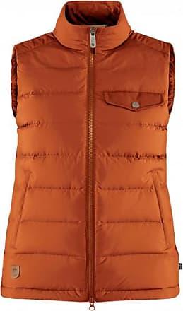 Fjällräven Womens Greenland Down Liner Vest Gilet in piumino Donna | rosso/arancione