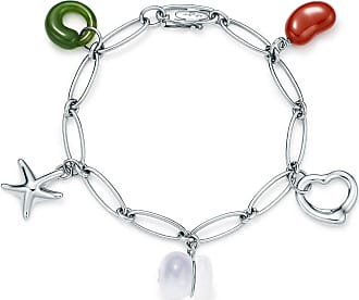 784532aed Tiffany & Co. Elsa Peretti five-charm bracelet in sterling silver - Size 7