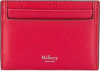 Mulberry Porta-cartões Continental - Vermelho