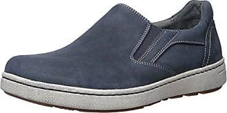 Dansko Viktor Fashion Sneaker, Navy Milled Nubuck, 47 (US Mens 13.5-14) Regular