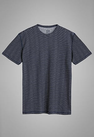 Boggi Milano t shirt navy in jersey di lino stretch