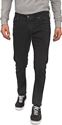 Jack & Jones Calça Jeans Jack & Jones Slim Pespontos Preta