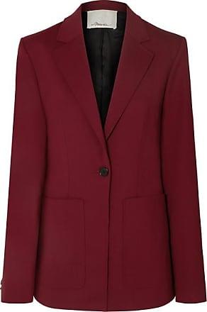 3.1 Phillip Lim Wool-blend Blazer - Burgundy