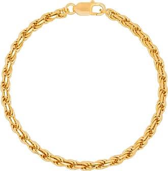 Hermina Athens Tornozeleira Achilles banhado a ouro - Dourado