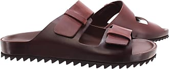 Officine Creative Mens Sandals Slippers Agora/002 Leather Brown