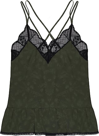Zadig & Voltaire Lace-trimmed Camisole Womens Green