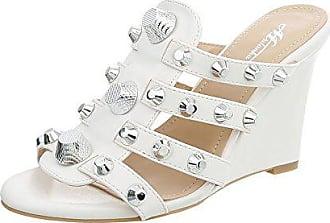 online store bd80c 4da31 Keilpantoletten in Weiß: 47 Produkte bis zu −55%   Stylight