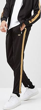 21 Men Reason Ankle-Zip Track Pants at Forever 21 Black