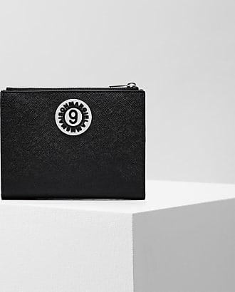 Maison Margiela Metallic Logo Medium Zip Wallet