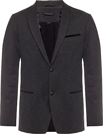 John Varvatos Blazer With Shawl Collar Mens Grey