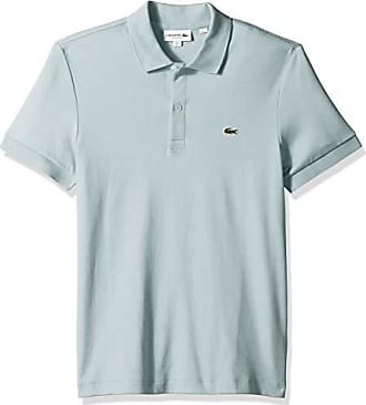 fa7461cfa5 Lacoste Mens S/S PIMA Jersey Polo Interlock REG, Aquarium, X-Large