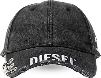 Diesel Embellished Baseball Cap Mens Grey