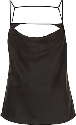Kiki De Montparnasse harness silk cami top - Black