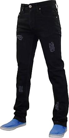 True Face Mens TRF040 Rio Jeans Black 32R
