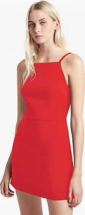 French Connection Whisper Light Square Neck Dress