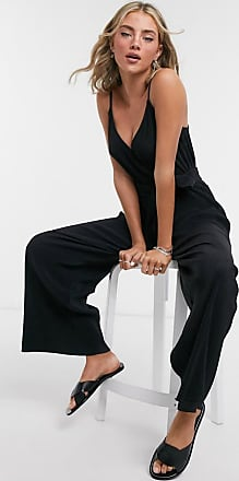 & Other Stories ribbed jumpsuit in black