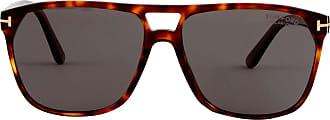 Tom Ford Eyewear Óculos de Sol 679 Estampado Marrom - Mulher - 59 US
