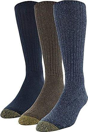 Gold Toe Mens Ultra Tec Performance OTC Athletic Socks 2 PK 6 PAIRS , Grey Heather Shoe Size: 6-12.5 3-Pack