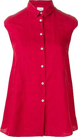 Aspesi Camisa evasê - Vermelho