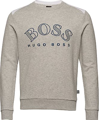 BOSS Salbo Sweat-shirt Tröja Grå BOSS