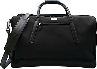 a25740a69c9 Gucci Black Canvas   Leather Trim Holdall