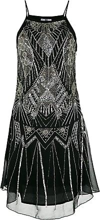 Pop Up Store Vestido bordado - Preto