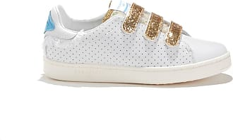 8c6ba32f7de Serafini Sneakers in geperforeerd leer en glitter JIMMY CONNORS