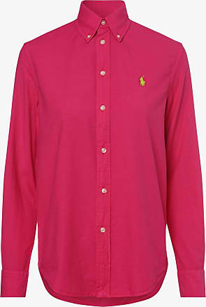 Polo Ralph Lauren Damen Bluse - Relaxed Fit rosa