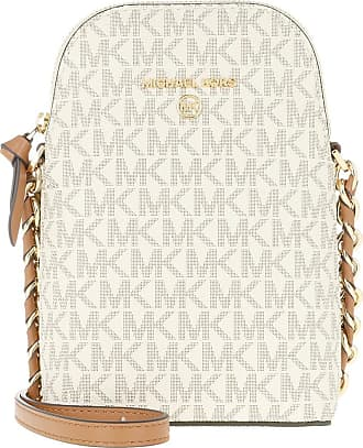 Michael Kors Cross Body Bags - Jet Set Charm Small Crossbody Bag Vanilla Acron - beige - Cross Body Bags for ladies